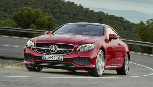Mercedes E Coupe – stylowy komfort