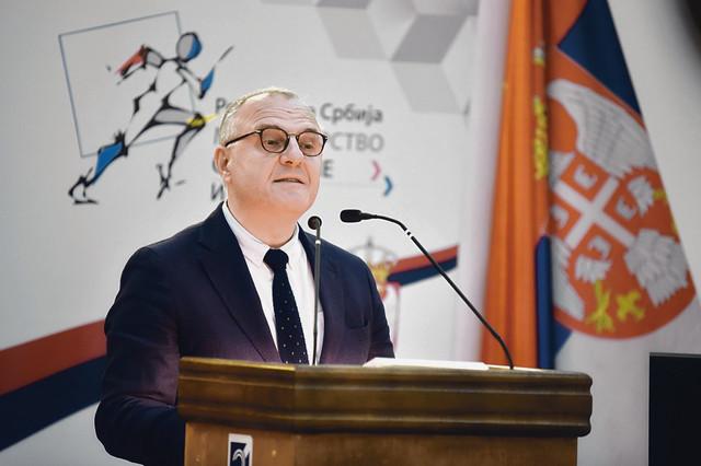 Dragan Antić,  rektor Univerziteta u Nišu