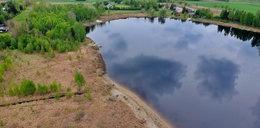 Jezioro Święte wysycha. Co skrywa na dnie? W okolicy huczy od plotek!