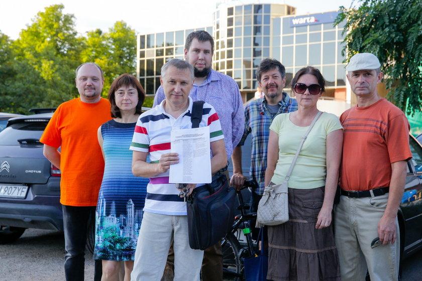 Mieszkańcy budynków przy Powstańców Śląskich