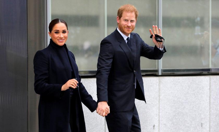 Książę Harry i Meghan po raz pierwszy od narodzin Lillibet pokazali się publicznie.