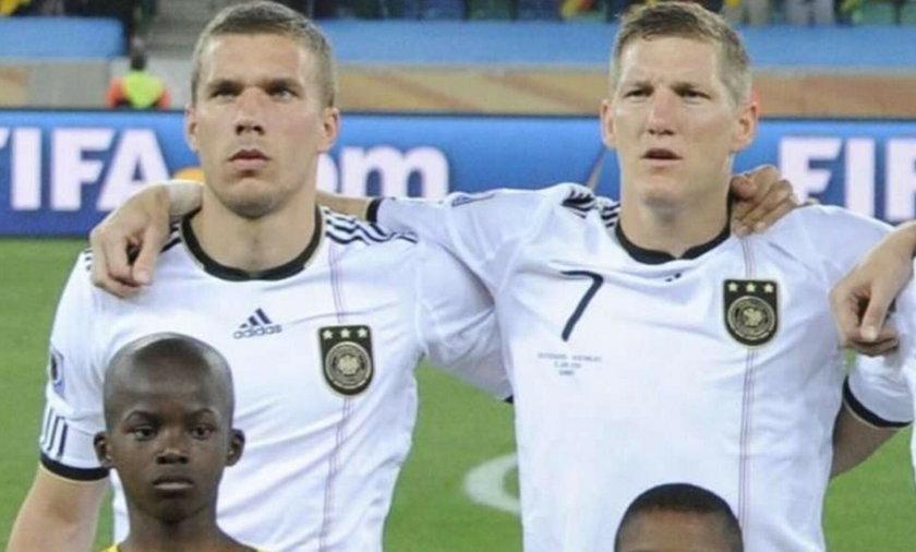 Podolski nie śpiewa hymnu Niemiec!