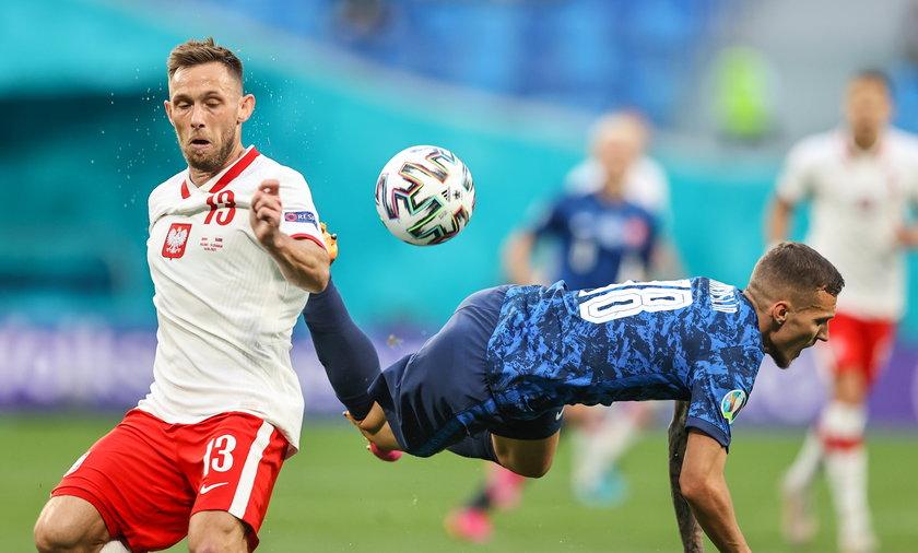 Maciej Rybus po meczu przez całe trzy minuty był dostępny dla dziennikarzy w strefie mieszanej