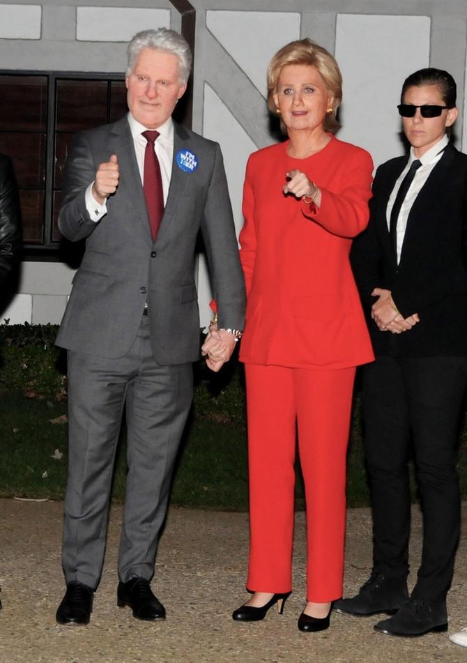 Orlando kao Bil, a Keti kao Hilari Klinton