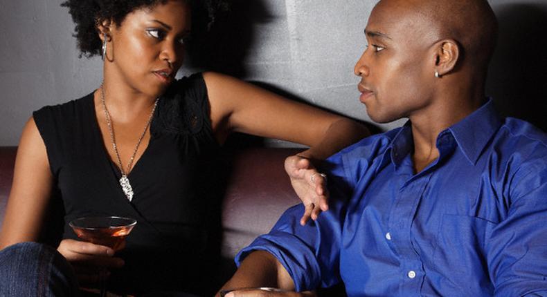Couple talking(Purposely Awakened)
