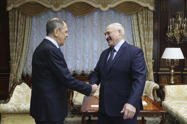 Lukašenko i Lavrov