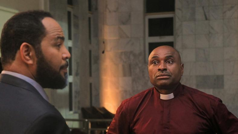 Ramsey Nouah (L) and Kenneth Okonkwo (R) return for 'Living in Bondage: Breaking Free'. [ R&B PR]