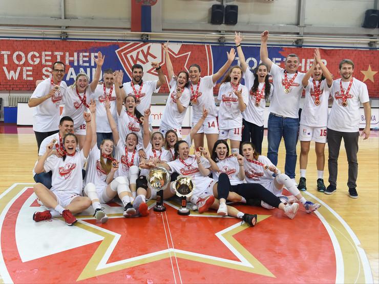 ŽKK Crvena zvezda prvak Srbije