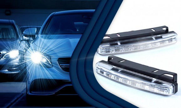 8 LED dnevnih svetala za auto