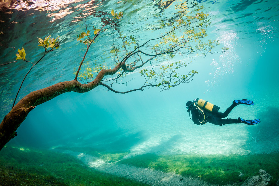 III miejsce - Diver in Magic Kingdom (pol. Nurek w Magicznym Królestwie), Marc Henauer / National Geographic Traveler Photo Contest