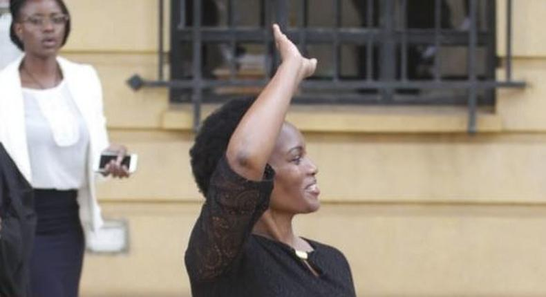 Sarah Wairimu Cohen complains on being forced to buy new clothes, shoes, accessories after court barred her access to her Kitisuru home