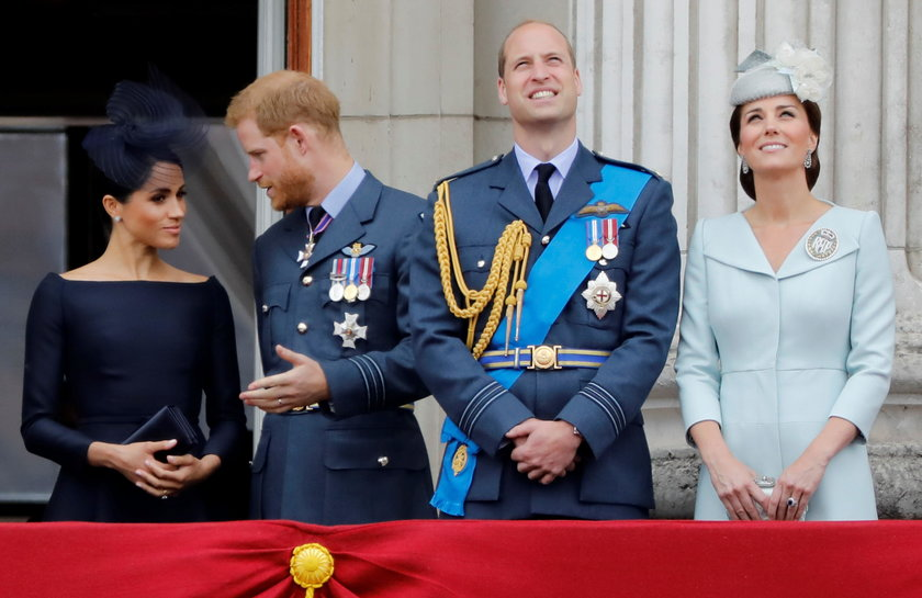 Britain's Prince Harry and Meghan, Duchess of Sussex visit the 91st Field of Remembrance in London