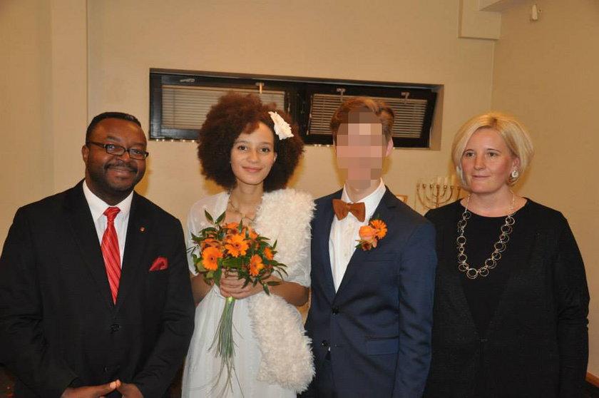 Poseł Godson wydał córkę za mąż