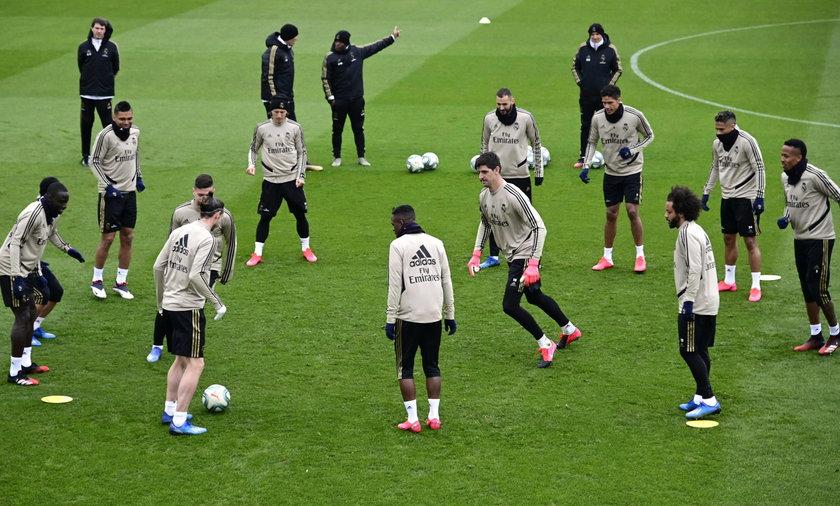 Real Madryt chce dokończyć sezon w ośrodku treningowym