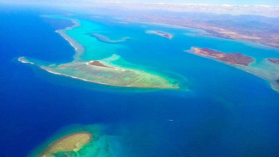 50-latka odkryła w Google Earth wyspę o nietypowym kształcie