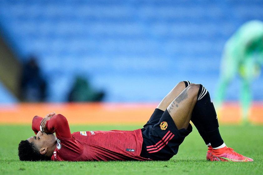 Marcus Rashford nie zagra w meczu z Polską