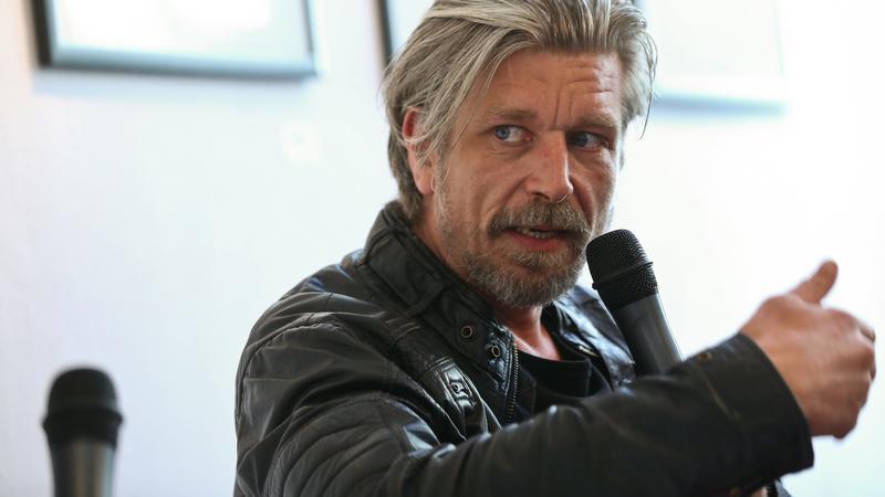 "Karl Ove Knausgård, autor ""Mojej Walki"""
