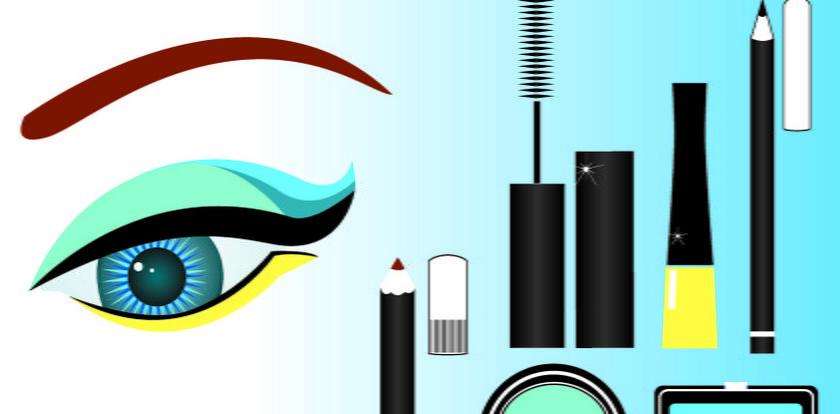 Wakacyjny makijażi manikiur w kolorze morza
