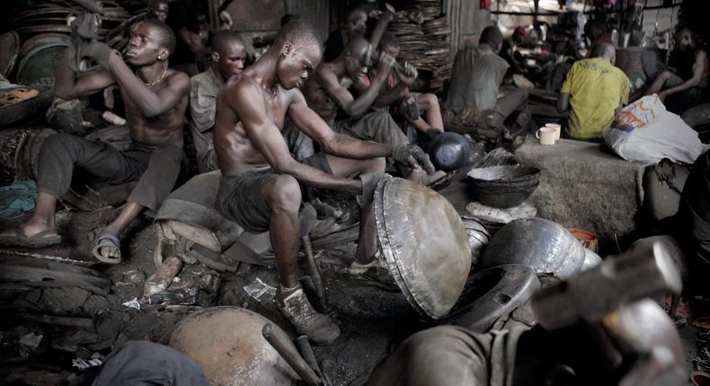 Kenyan Jua Kali industry.