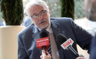 Waszczykowski: Chcemy, żeby UE utrzymała politykę otwartych drzwi