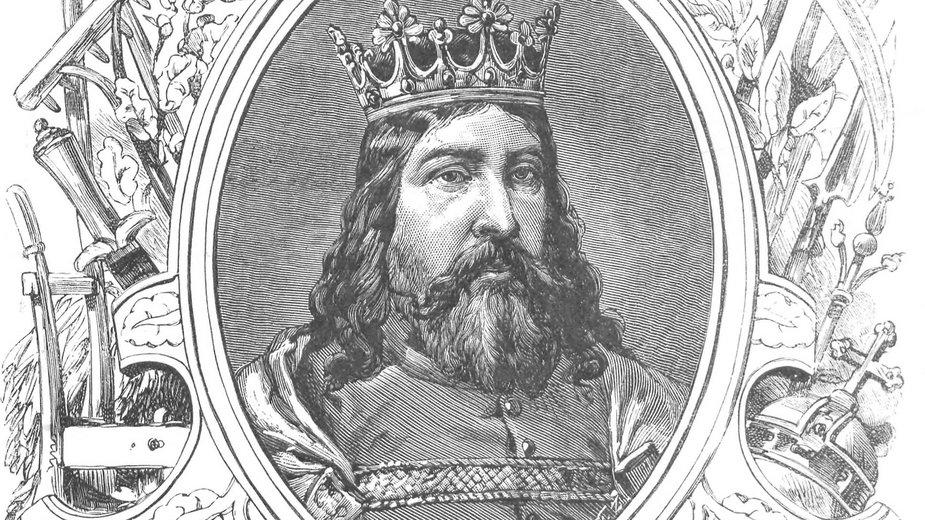 Kazimierz Wielki (Wizerunki książąt i królów polskich) - domena publiczna
