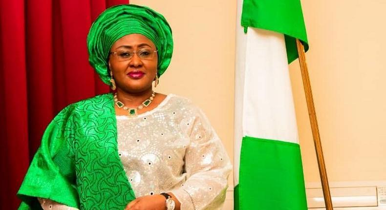 Nigeria's First Lady, Aisha Buhari. [Twitter/@aishambuhari]
