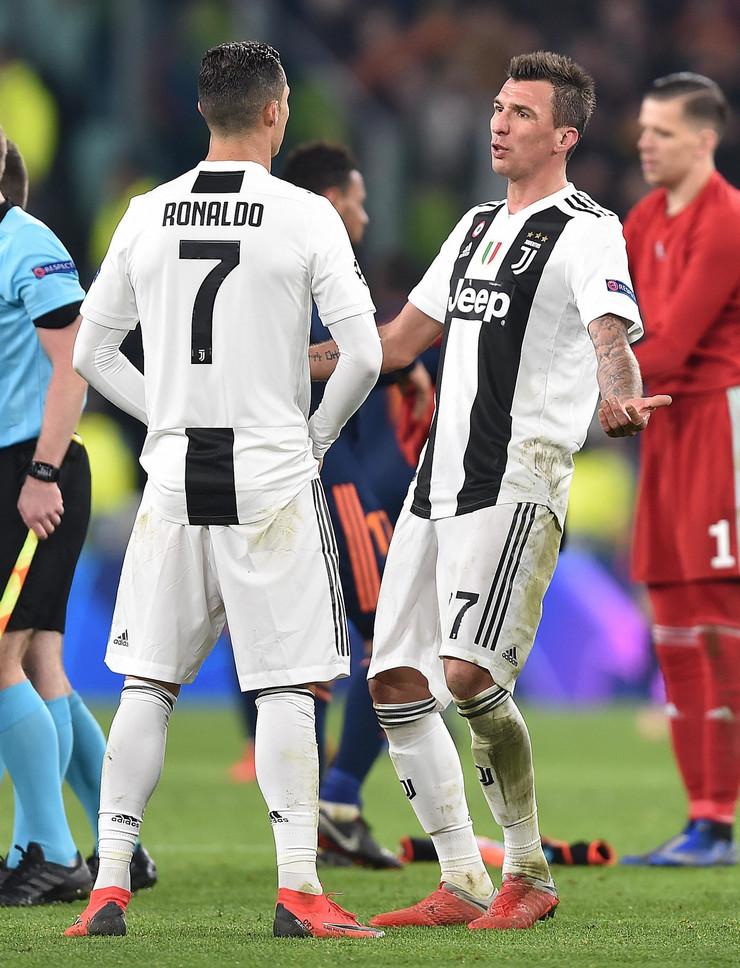 Kristijano Ronaldo i Mario Mandžukić