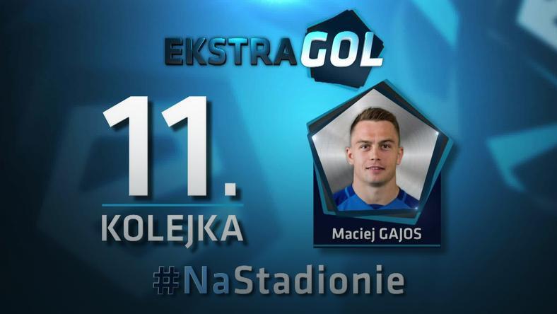 EkstraGol - Maciej Gajos zwycięzcą w 11. kolejce