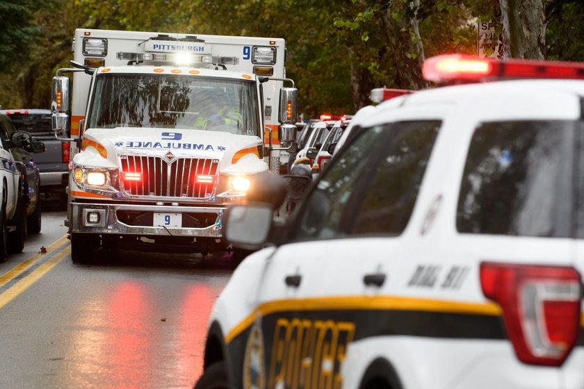 Wiele ofiar strzelaniny w synagodze