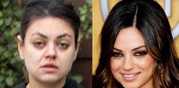 Ale czad! Rzekomo śliczna aktorka bez makijażu... FOTO