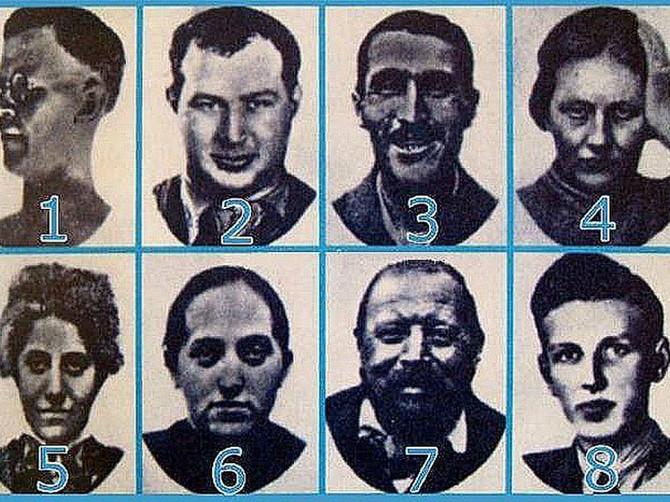 Dobro pogledajte ovih 8 lica i recite nam koje u vama izaziva najveće GAĐENJE I UŽAS? Test slavnog psihijatra razotkriva vaš NAJDUBLJE ZAKOPANI STRAH