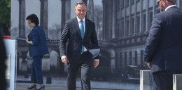 """Prezydent Duda: """"Lech Kaczyński, patrząc z góry, zobaczy odbudowany Pałac Saski"""""""