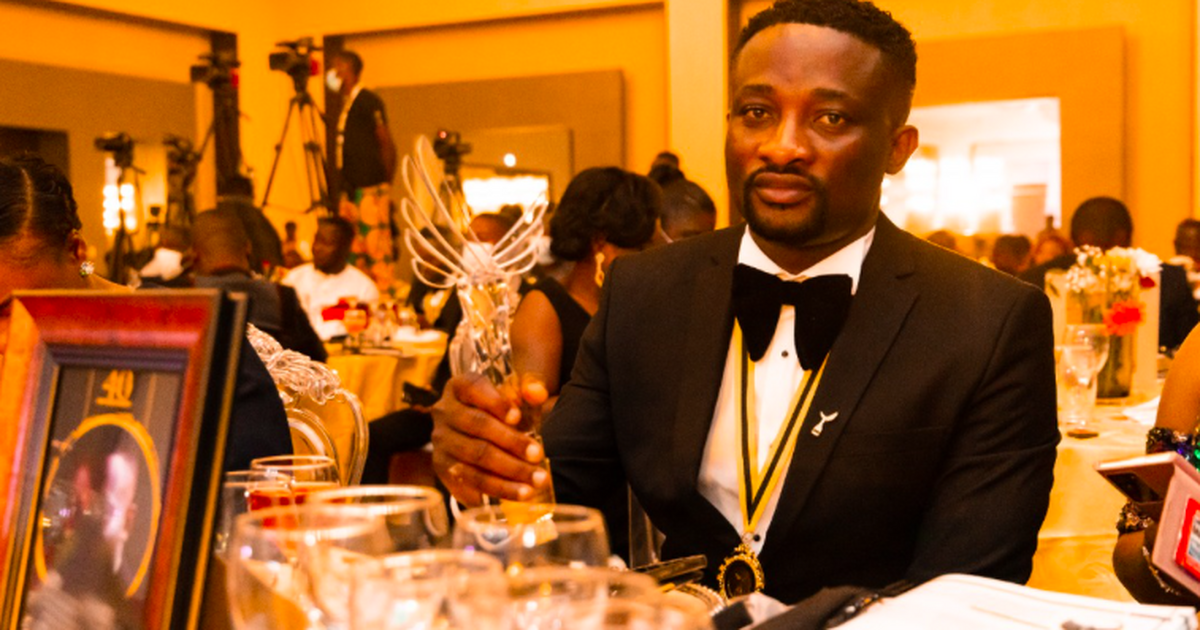 Romeo Richlove kweku Seshie wins banking and finance category at 2021 40 under 40