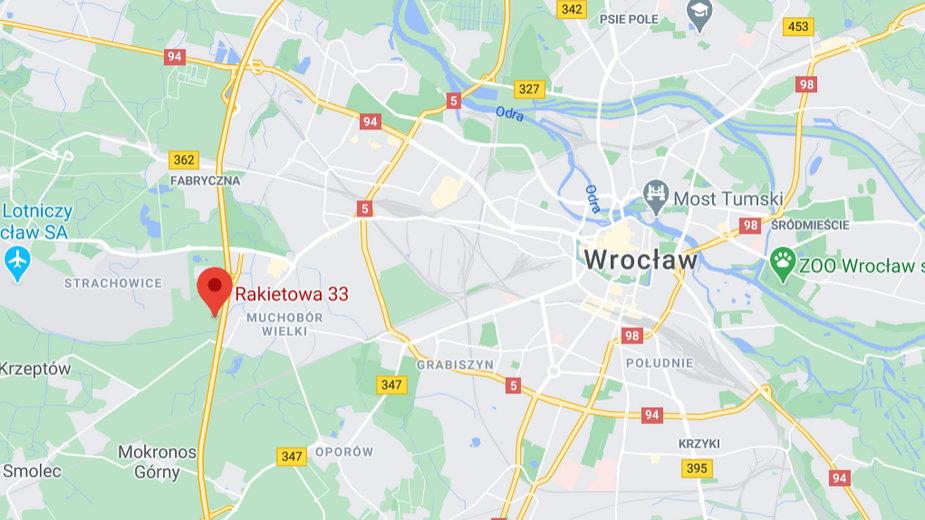 Szpital polowy we Wrocławiu powstanie na terenie prywatnym przy ul. Rakietowej