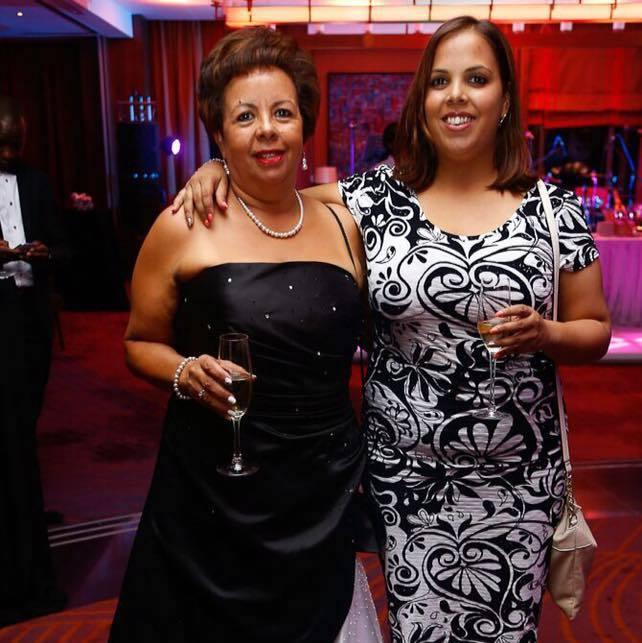 Susan Rodrigues, Revitalize Wellness Centre Managing Director (L) with a guest at a past event.
