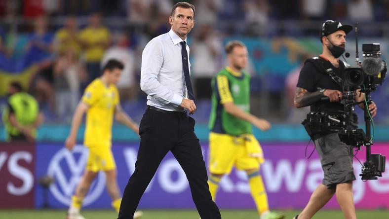 Andrij Szewczenko po meczu z Anglią na Euro
