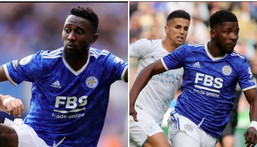 Wilfred Ndidi and Kelechi Iheanacho played in Leicester CIty's loss at home to Man City (Leicester City)