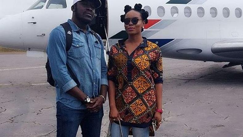 "Yemi Alade and manager Taiye ""Effizy' Aliyu"