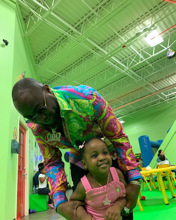 Check out the cute photos from Davido's daughter's birthday party held in the U.S. [Instagram/DavidoOfficial]