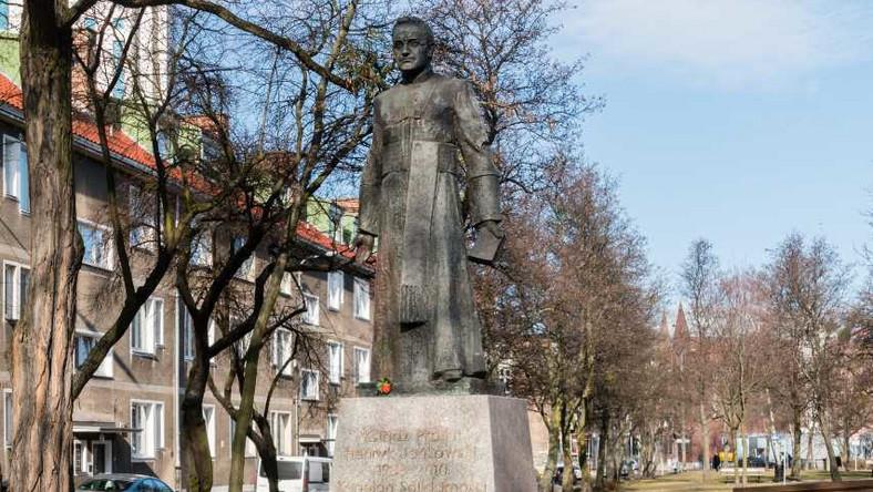 Pomnik ks. Henryka Jankowskiego w Gdańsku