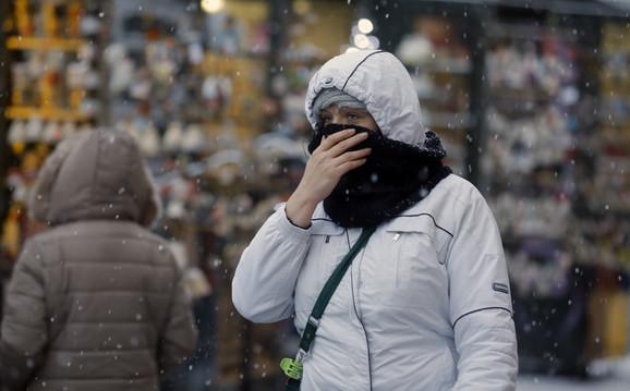 Zahlađenje doneće i slab sneg