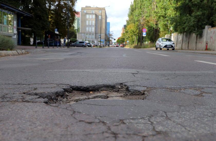 Remont na Sienkiewicza w Łodzi