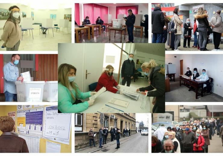 Lokalni izbori BiH - glasanje-Srna-Siniša-Pašalić-Goran-Šurlan-Tanja-Vukomanović-BT-Foto-RAS-kombo