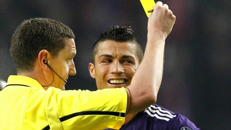 Craig Thomson i Cristiano Ronaldo