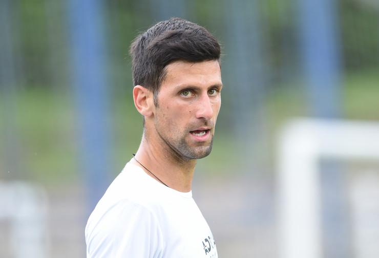 Fudbalski meč Novak Đoković, teniseri i poznate ličnosti