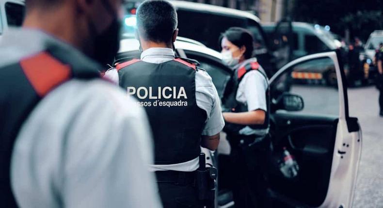 Agression contre la police
