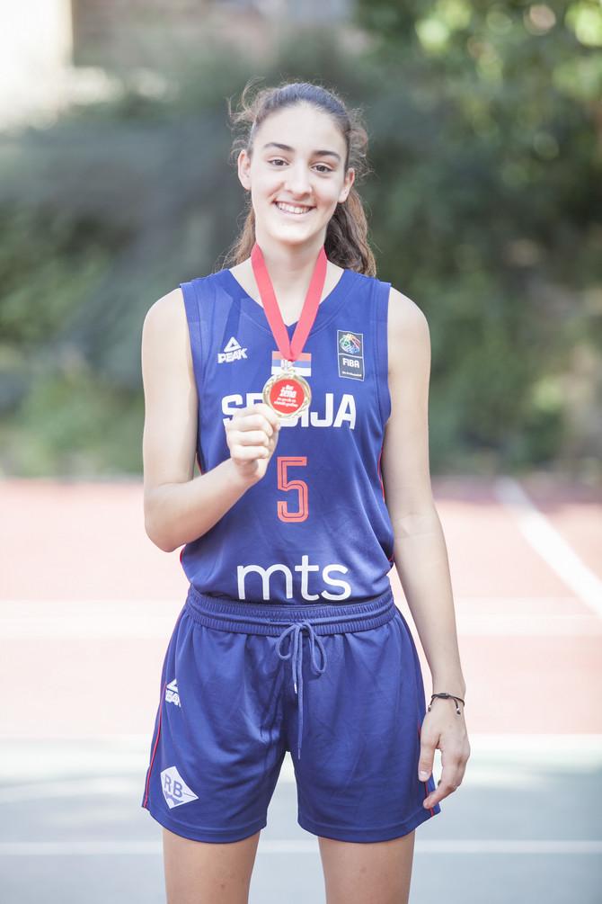 Tamara Ivanović je najbolja mlada košarkašica Srbije