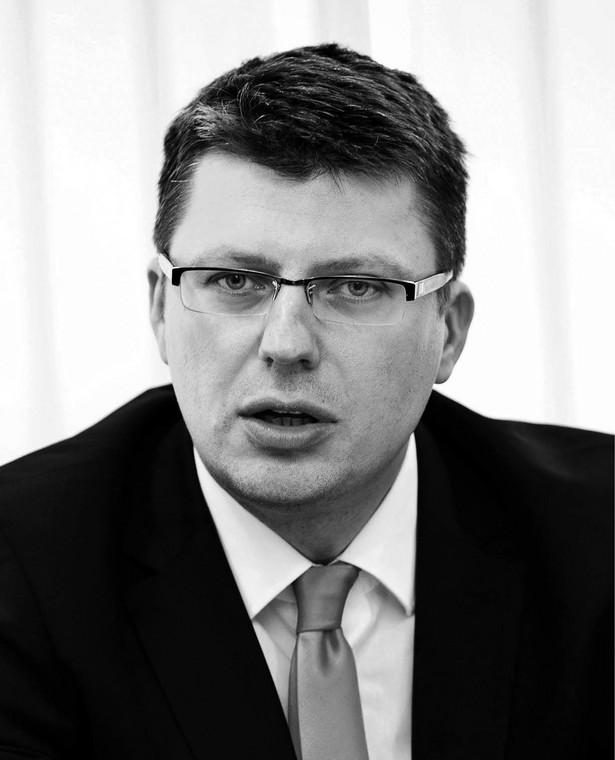 Marcin Warchoł poseł PiS, były wiceminister sprawiedliwości