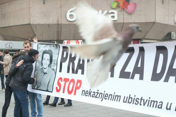 Protesti-Banjaluka David Dragicevic