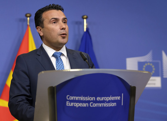 Zoran Zaev, makedonski premijer